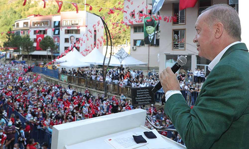 Koca'nın 'sosyal mesafe' paylaşımına yurttaştan 'Erdoğan' tepkisi
