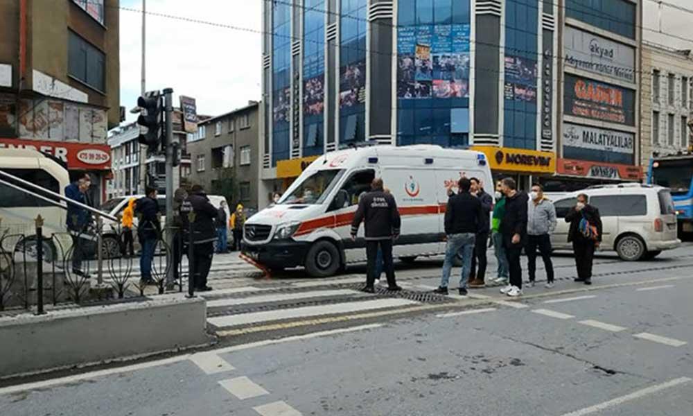 Tramvay beklerken kalp krizi geçirip hayatını kaybetti