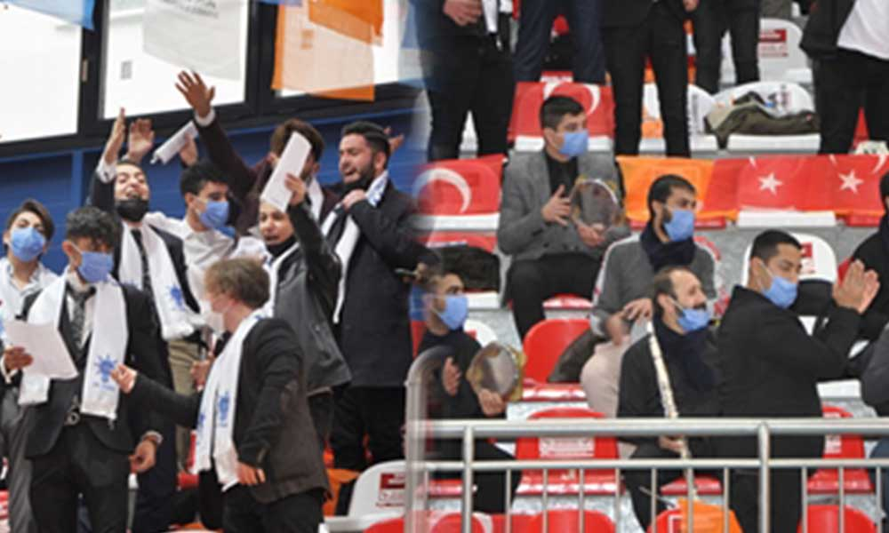 Yine kamu binası… AKP kongresi MEB'e bağlı okul salonunda yapıldı