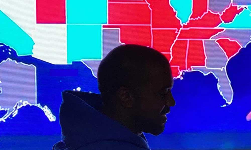 Başkanlık seçimlerinde oy oranı yüzde 1'in altında kalan Kanye West'in hedefi 2024