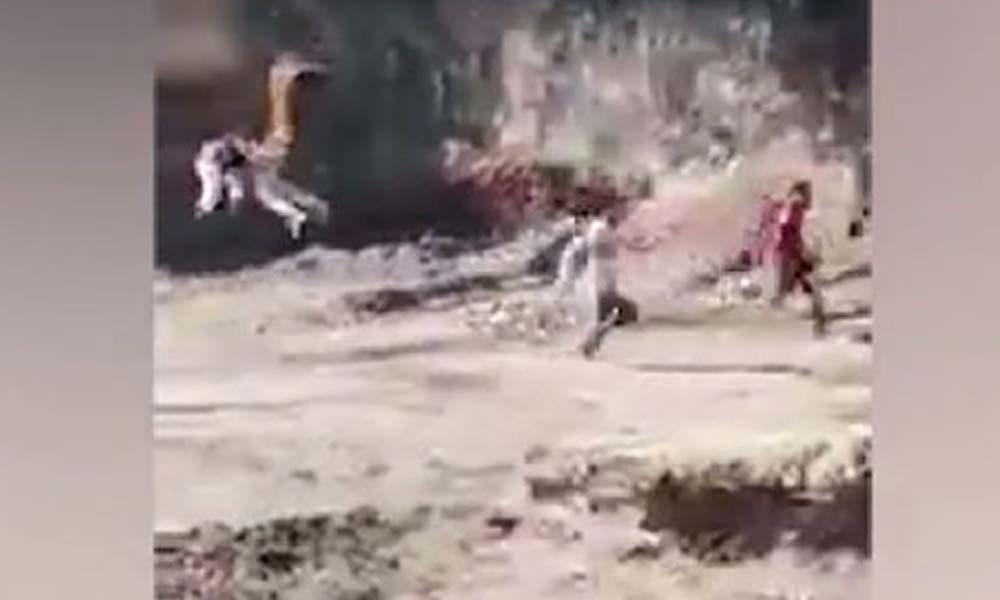 Hindistan'da kaplan kasaba sakinlerini kovaladı