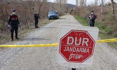 Ayvacık'ta bir köy karantinaya alındı