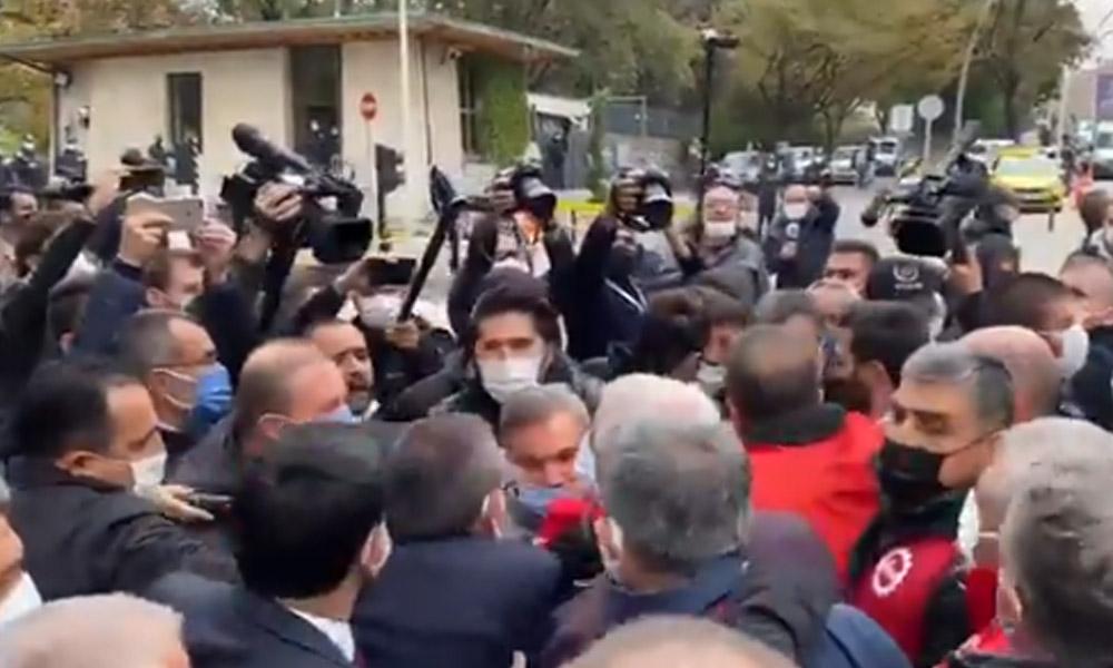 DİSK'in 'kıdem tazminatı' açıklamasına polis engeli