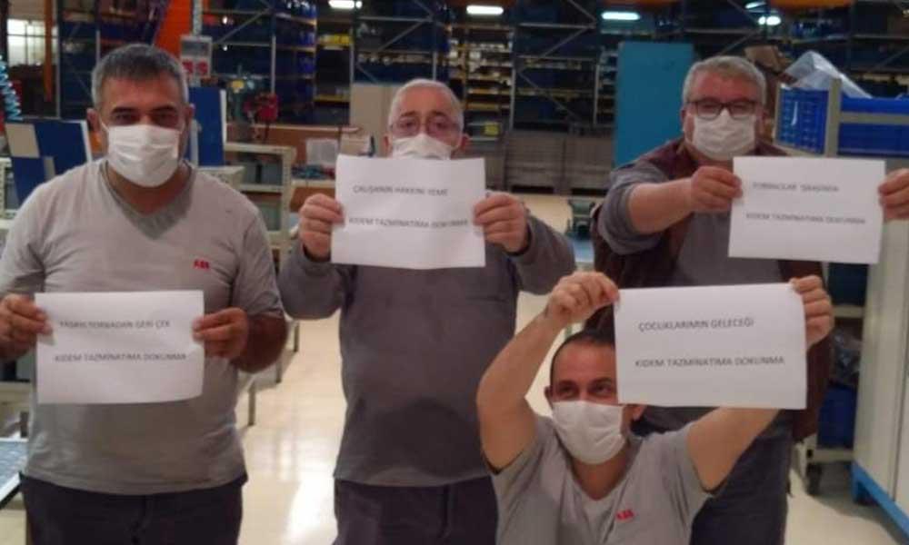 İşçiler ayakta: Torba yasaya hayır