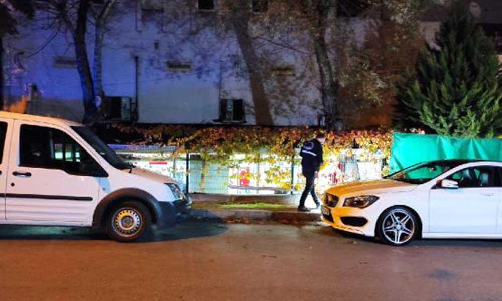 Küçükçekmece'de silahlı saldırı: 1 kişi yaralandı