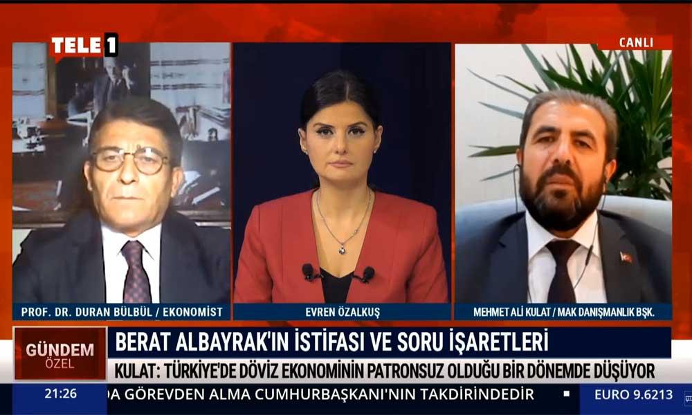 MAK Danışmanlık Başkanı Mehmet Ali Kulat'tan çok konuşulacak açıklama
