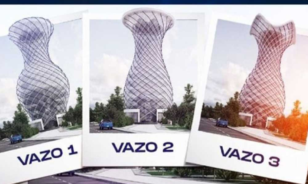Kütahya Belediyesi'nden 'Vizyon projesi': 70 metre yüksekliğinde vazo!