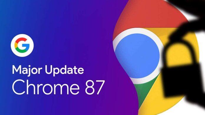 Google Chrome 87 ne gibi yenilikler sunacak