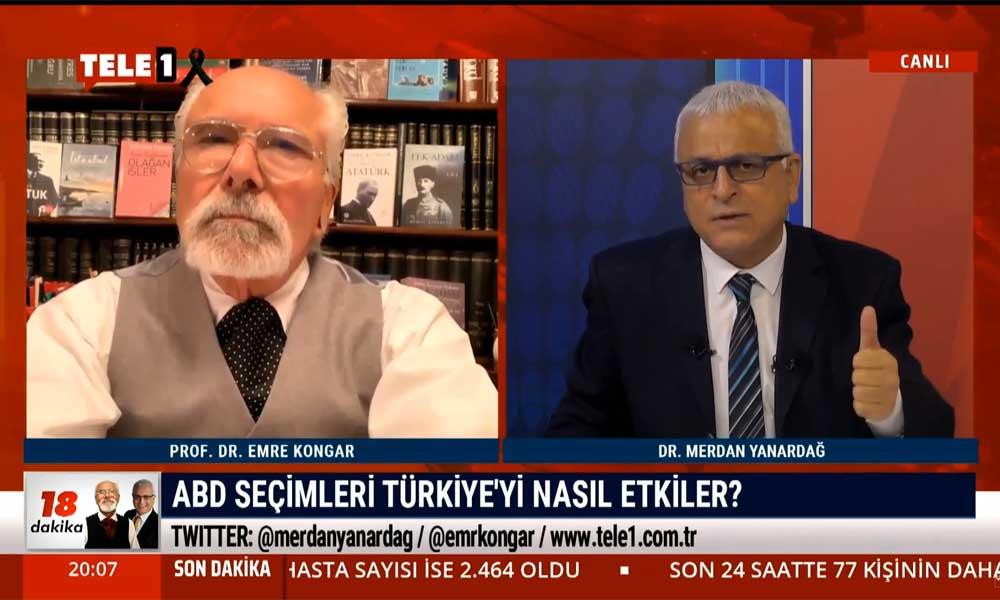 Merdan Yanardağ: Biden kazanırsa Türkiye-ABD ilişkilerinin sürdürülmesi bakımından Erdoğan yönetimini zor günler bekliyor
