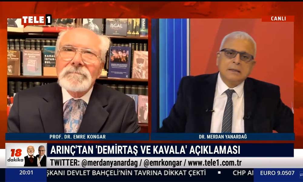Merdan Yanardağ: Bülent Arınç'ın Erdoğan'ın bilgisi dışında bu çıkışı yaptığına inanmıyorum
