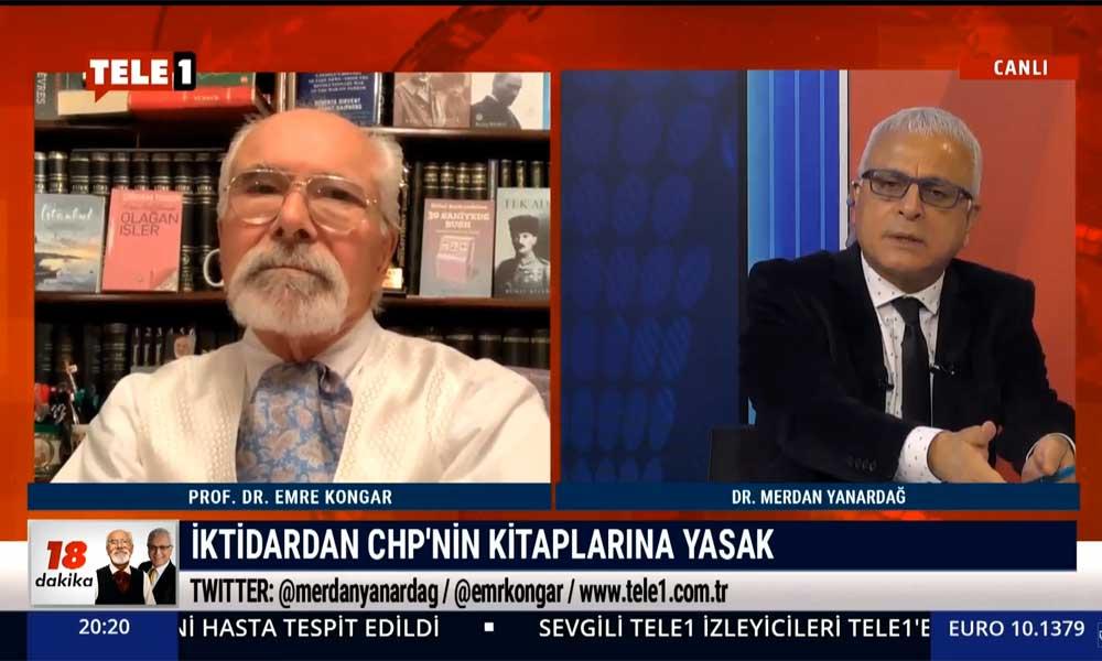 Merdan Yanardağ: CHP broşürlerinin yasaklanması siyaset yasağı koymaya çalışmaktır