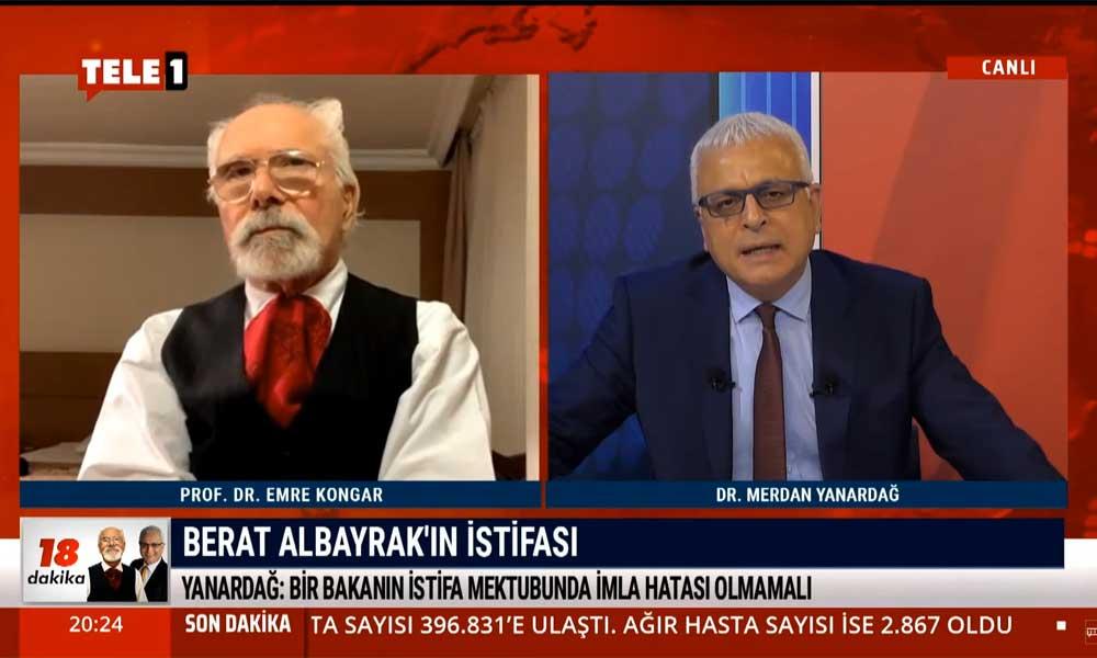 Merdan Yanardağ: Berat Albayrak'ın ifadesi doğru, 100 yıllık Cumhuriyet'i batırdılar
