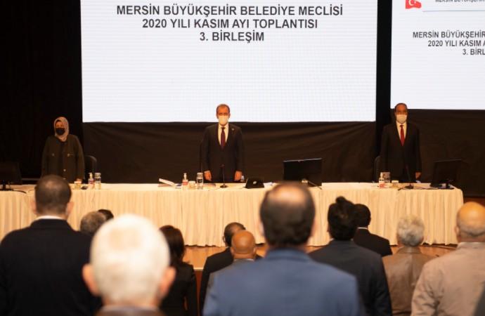 Mersin Büyükşehir 2020'de 144 projeyi hayata geçirdi
