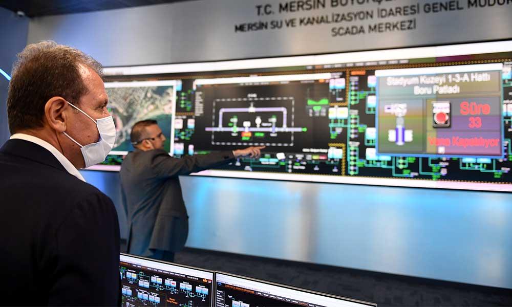 Başkan Seçer, MESKİ'ye kazandırılan Scada Merkezi'nin açılışını yaptı
