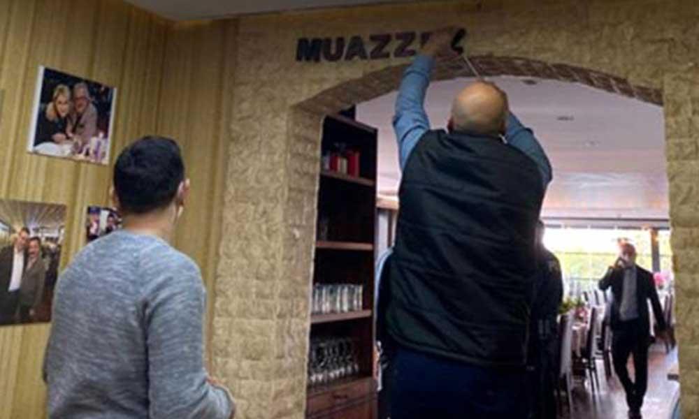 Muazzez Ersoy'dan ismini kullanan restorana polis baskını