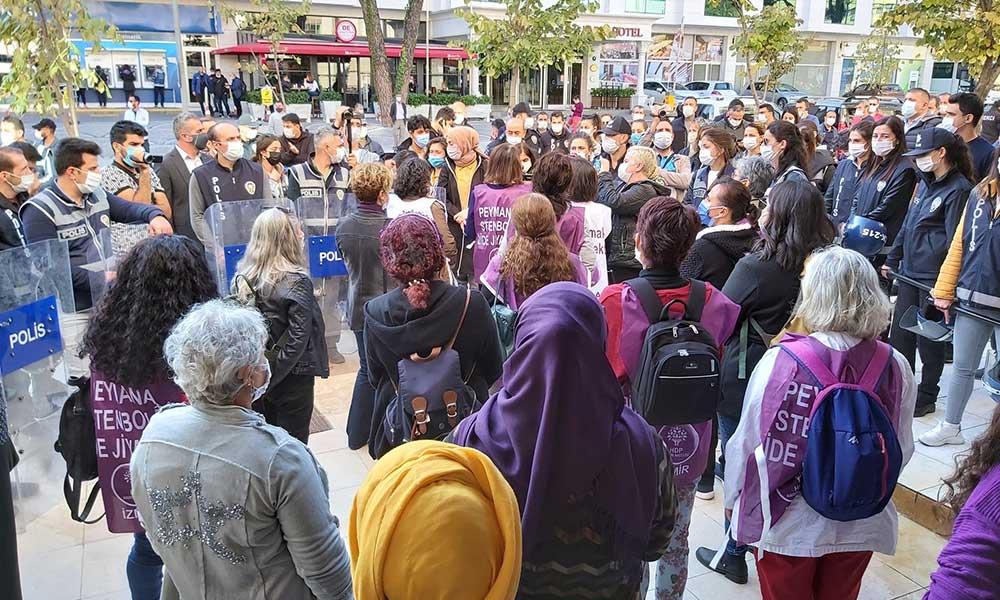 Muğla'da HDP Kadın Meclisi etkinlikleri öncesinde 'koronavirüs tedbiri'