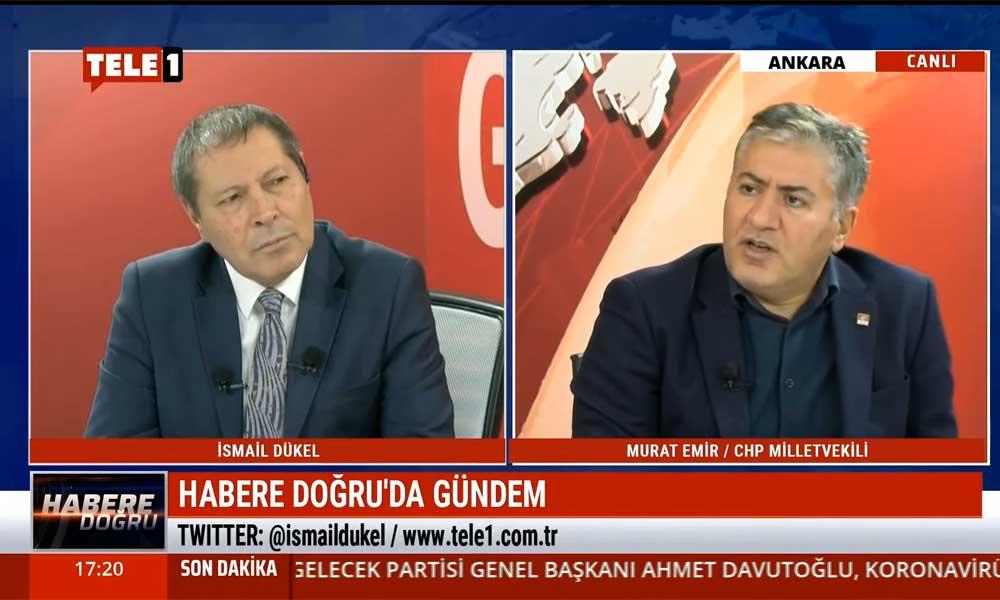 CHP Ankara Milletvekili Murat Emir: Erdoğan'ın yargıda reform arzusu yok, güç zehirlenmesi yaşıyor