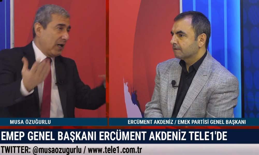EMEK Partisi Genel Başkanı Akdeniz: AKP içerisinde kaynama var