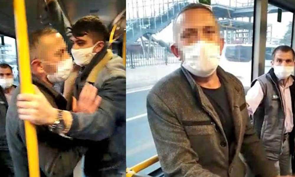Otobüs tacizcisi tutuklandı!