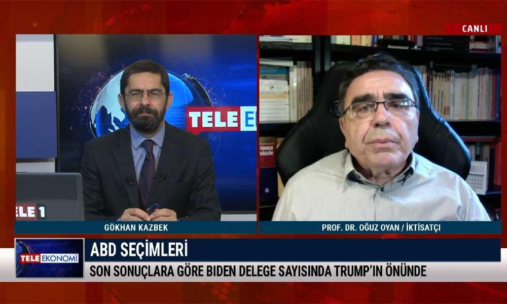 İktisatçı Prof. Dr. Oğuz Oyan: Türkiye'nin gördüğü en kapsamlı köleleştirme yasası görüşülüyor – TELE EKONOMİ