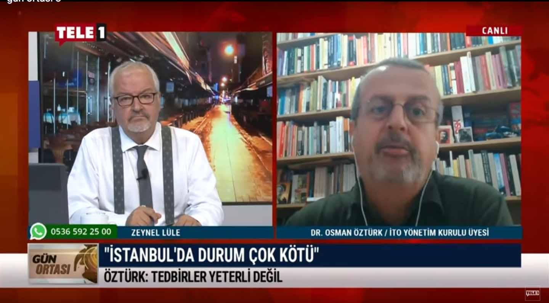 Dr. Osman Öztürk: Salgın ile mücadele hastalansın gelsin tedavi ederim mantığı ile yürütülemez