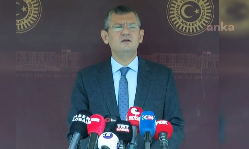 CHP'li Özel: AK Parti grubu da ekonomiden endişeliymiş