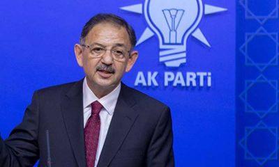 AKP Genel Başkan Yardımcısı Özhaseki koronavirüse yakalandı
