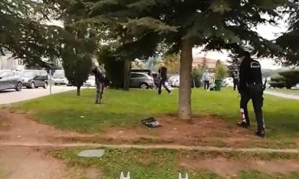 İşsiz genç Gebze Belediyesi önünde intihara kalkıştı