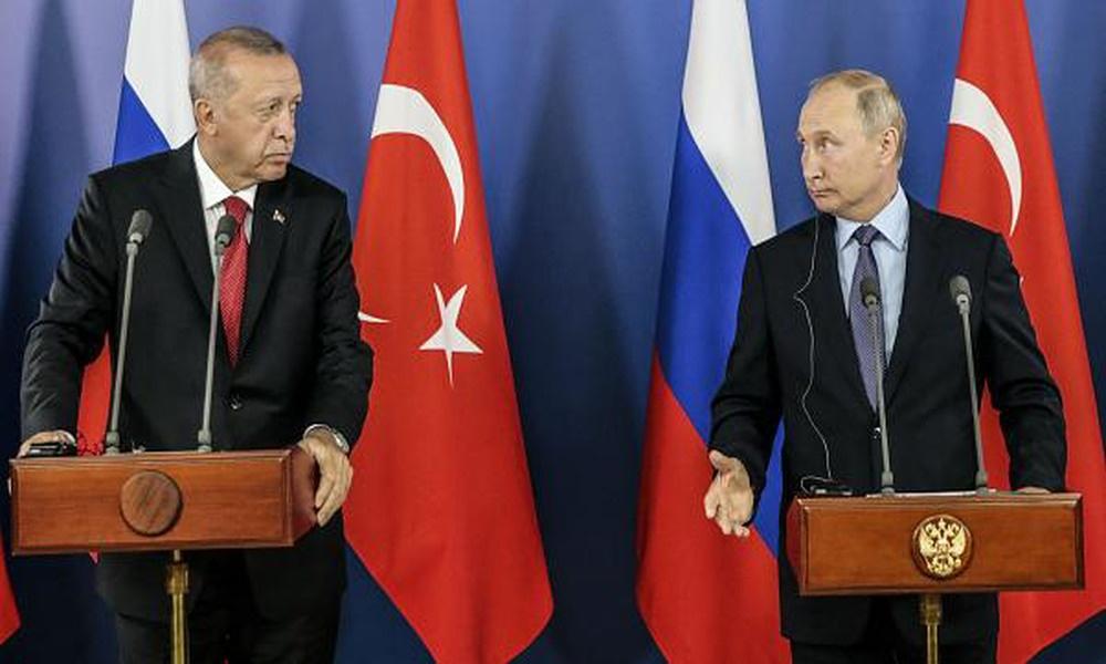 AKP'li Cumhurbaşkanı Erdoğan ile Putin, 'Dağlık Karabağ' sorununu görüştü