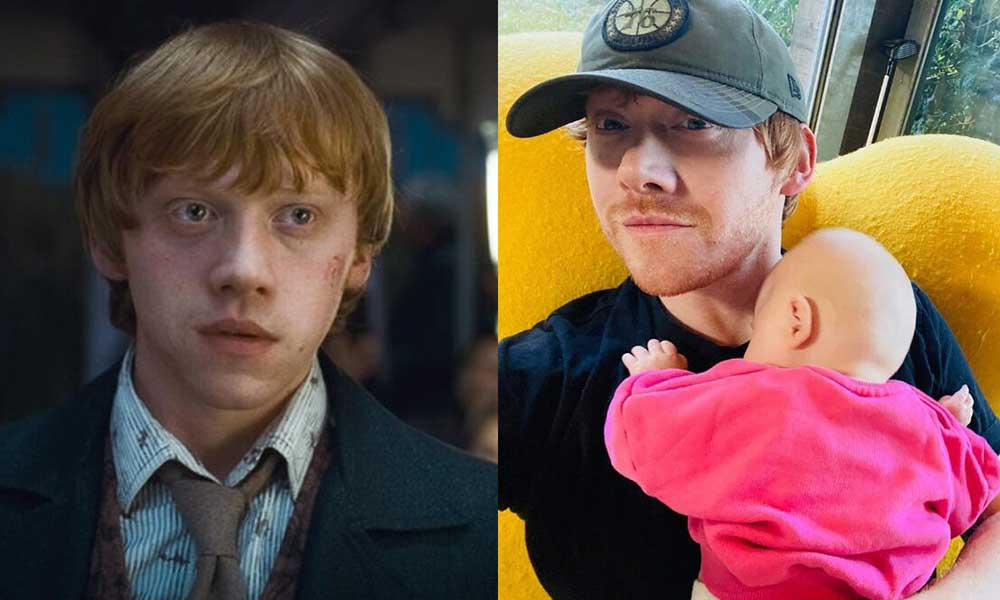 'Ron Weasley' karakteriyle tanınan Rupert Grint, baba oldu