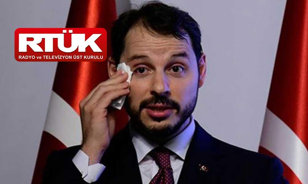 RTÜK üyesinden 'yandaş medya' kanallarına Berat Albayrak tepkisi!