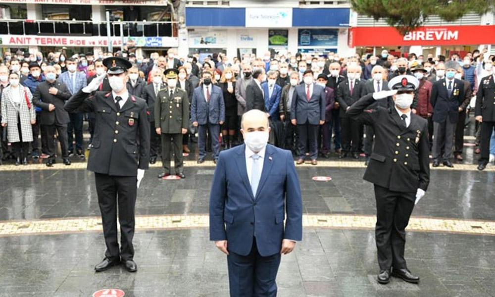 Samsun'da tepki çeken 10 Kasım töreni: Ciddiyetsizlik pes dedirtti