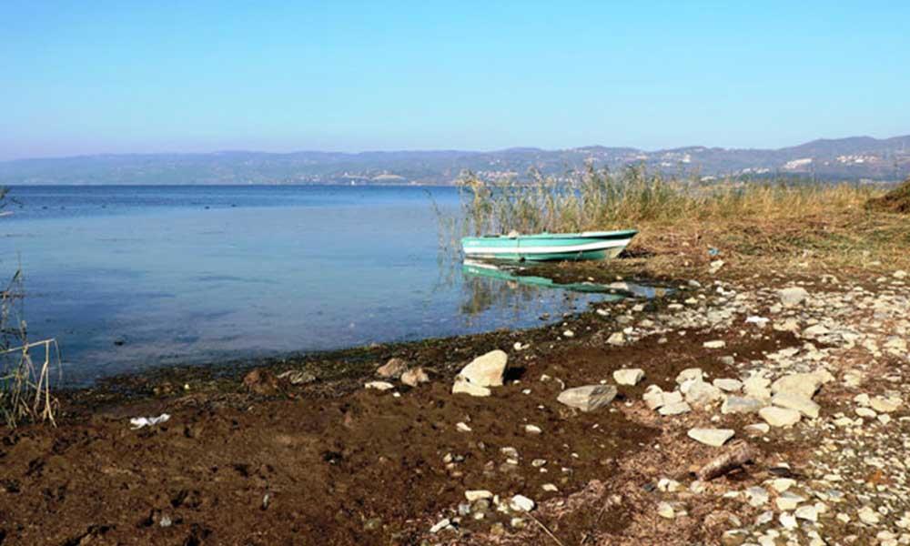 Sapanca Gölü'nün su seviyesinde ciddi düşüş: 2021 yılında kuraklık bekliyoruz