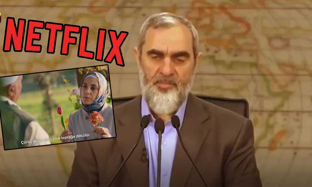 Gericinin sözleri Netflix dizisine replik yapıldı