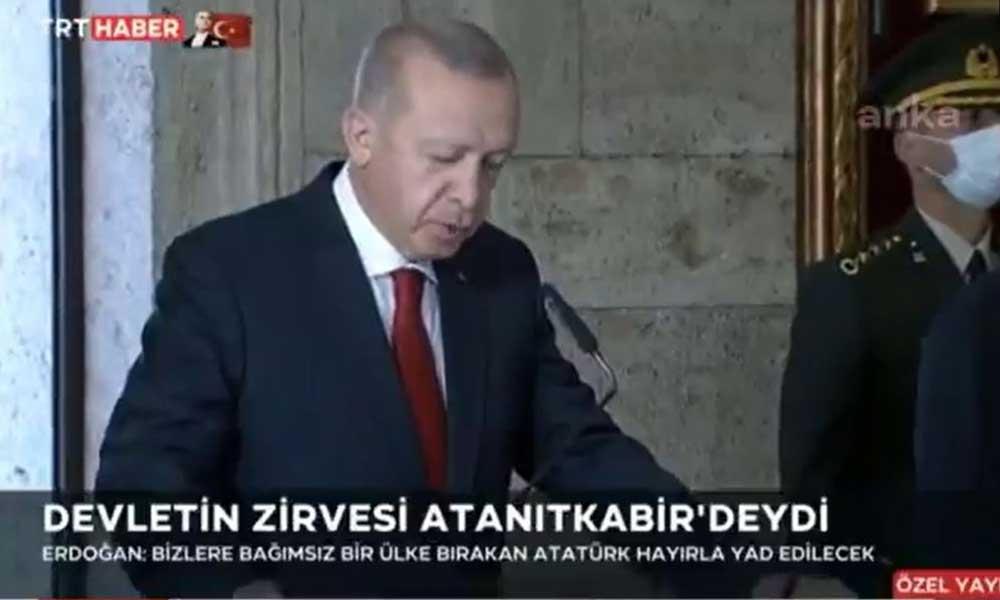 TRT skandal Anıtkabir KJ'si açıklamasında koronavirüse 'sığındı'