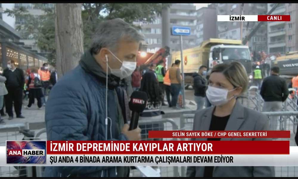 CHP Genel Sekreteri Selin Sayek Böke: Deprem değil, düzen öldürüyor