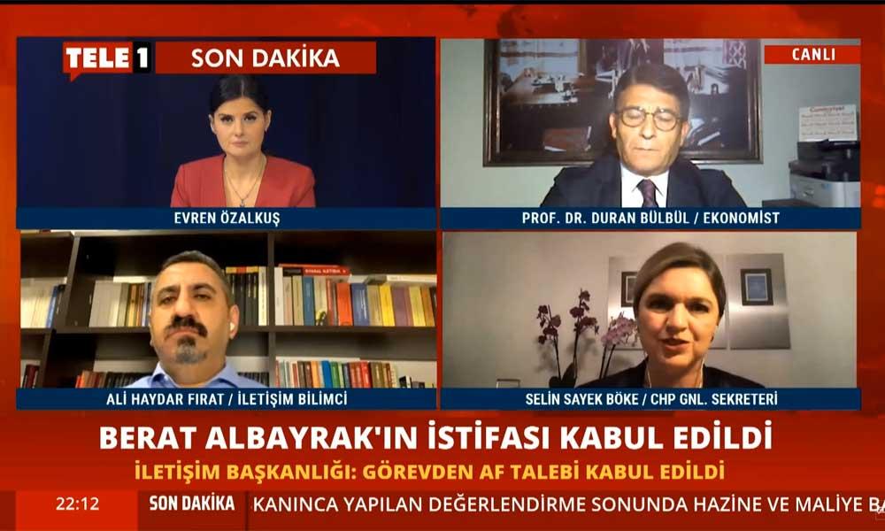 CHP'den Berat Albayrak'ın istifasının kabulüyle ilgili ilk açıklama