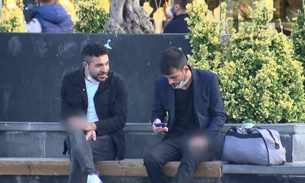 Esenyurt Meydanı'nda sigara yasağına uyulmadığı görüldü