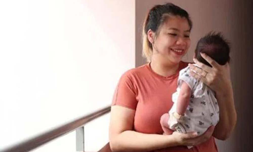 Koronavirüs antikorlarına sahip bebek doğurdu