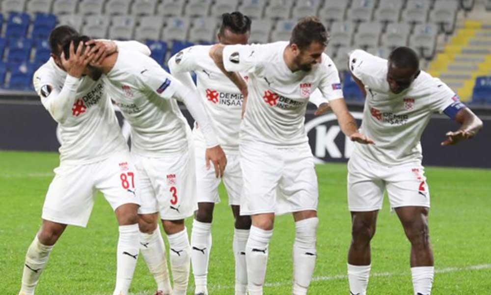 Sivasspor'dan Avrupa'da iddialı galibiyet!
