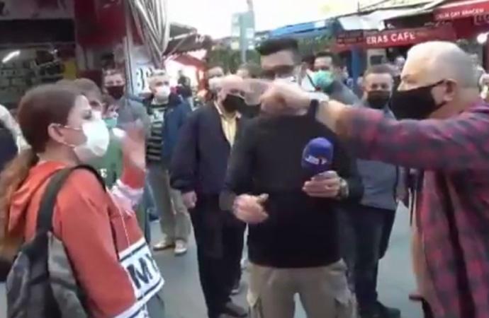AKP'ye toz kondurmayan kadın aldığı cevap karşısında dondu kaldı