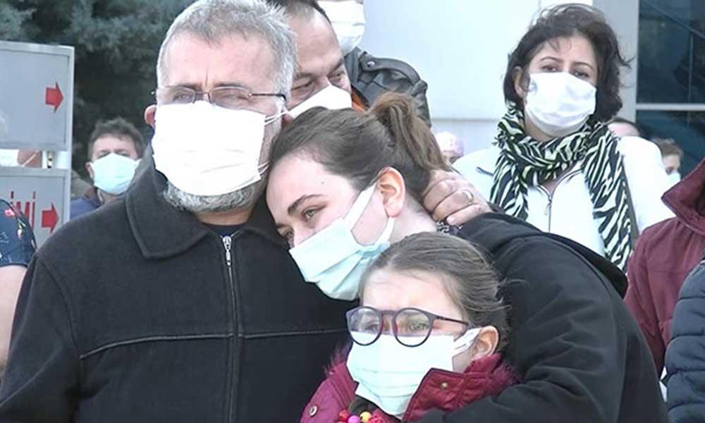 Koronavirüsten hayatını kaybeden Emine hemşire, son yolculuğuna uğurlandı