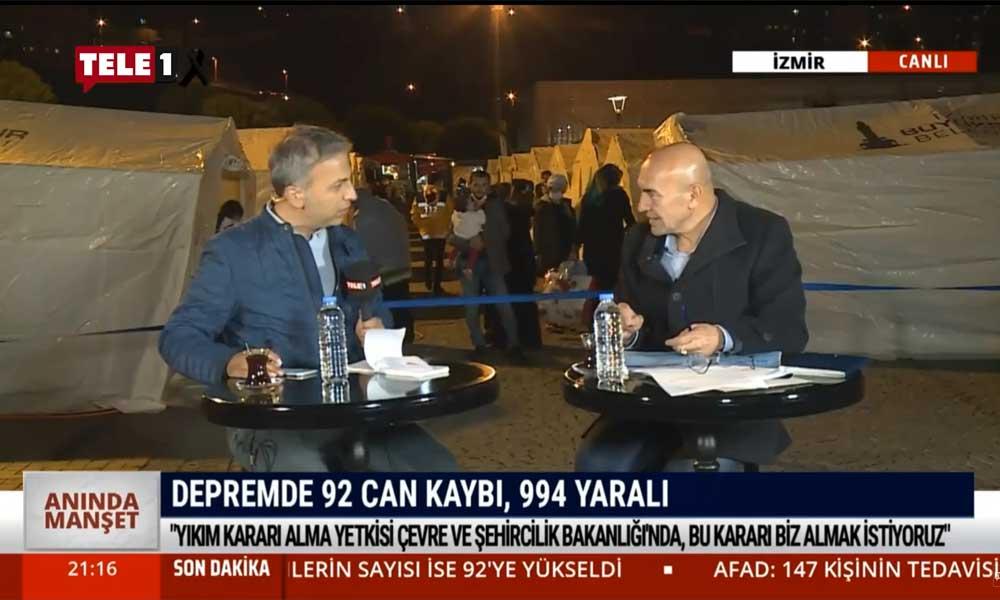 İzmir Belediye Başkanı Tunç Soyer: Yıkım kararı alma yetkisi çevre ve şehircilik bakanlığında, bu kararı biz almak istiyoruz – ANINDA MANŞET