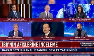 İYİ Parti'den Soylu'ya Ekrem İmamoğlu tepkisi: İnsanı aptal yerine koymanın alemi yok