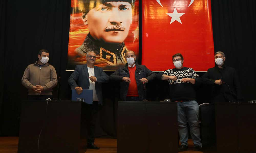 Mudanya Belediyesi'nde Toplu İş Sözleşmesi imzalandı