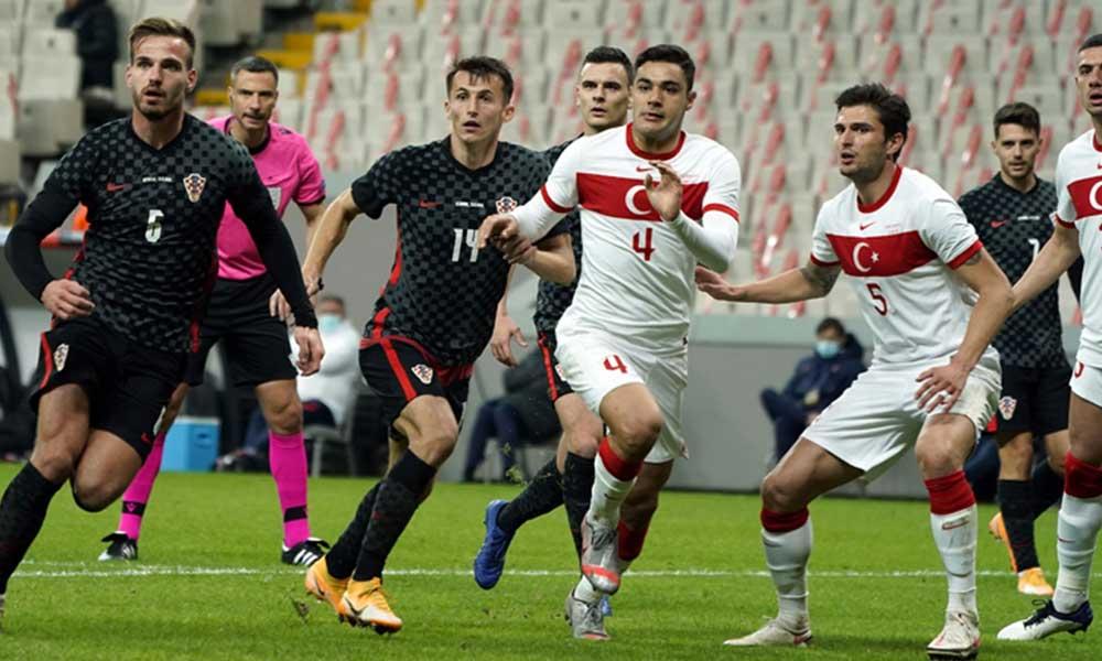 Türkiye-Hırvatistan maçında 6 gol!