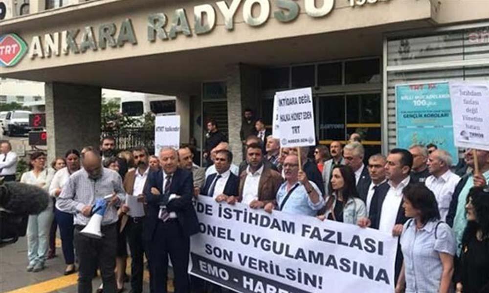 Yazım hatalarıyla gündeme gelen TRT'de 8 montajcı sürgün edildi