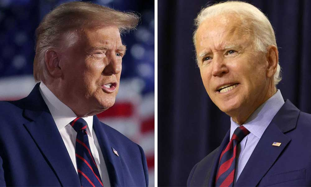 Trump'tan dikkat çeken Biden paylaşımı: Kazandı