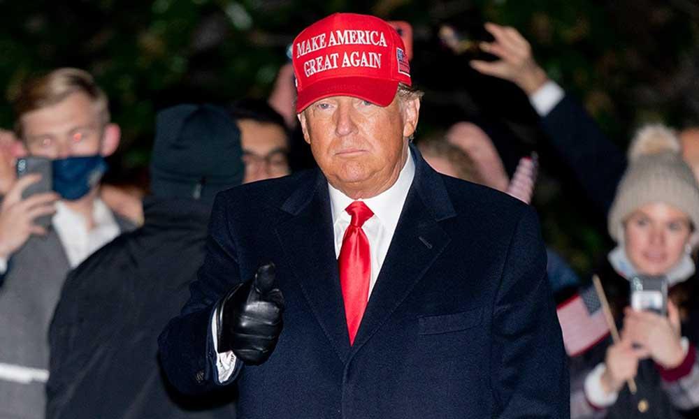 Trump: Anahtar eyaletlerdeki üstünlüğüm sürpriz oy yığınlarının sayılmasıyla kayboldu