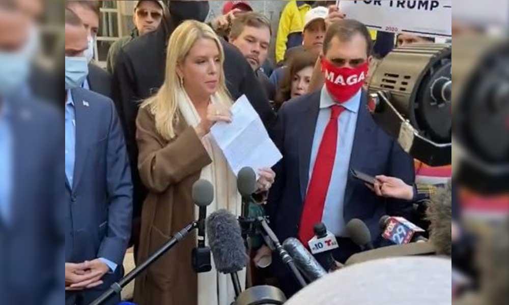 Trump'ın kampanya ekibi Pensilvanya'da: Oylama sürecini gözlemlemek istiyoruz